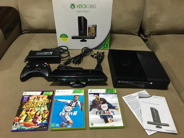 Xbox GB + Kinect
