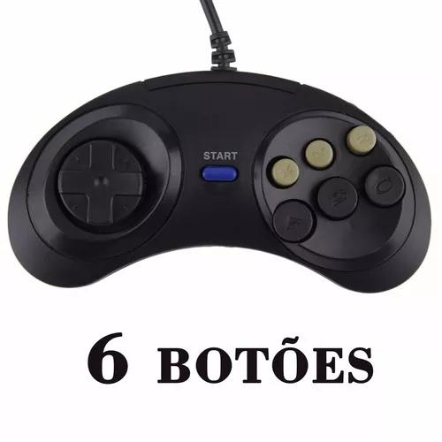 02 Joystick Controle Mega Drive Master Syst
