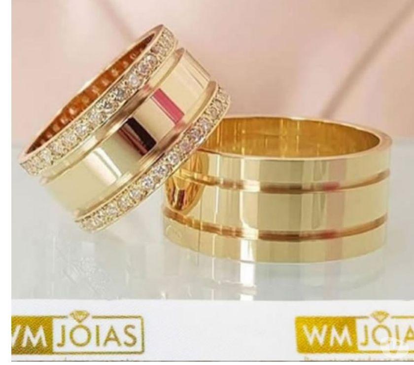 Alianças de ouro Luxo !! Preço Fábrica