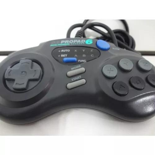 Controle De Mega Drive Sg Propad 6 - Funcionando