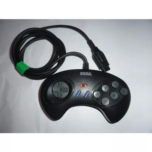 Controle Mega Drive Mk 1470 Turbo 6 Botões Original Sega