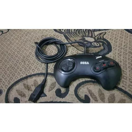 Controle Para O Mega Drive Original 3 Botões Tudo 100% G2