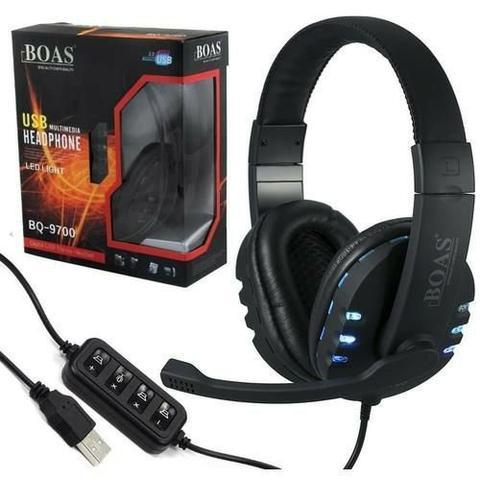 Fone De Ouvido C/ Microfone PC, Playstation3,- Bq- Boas