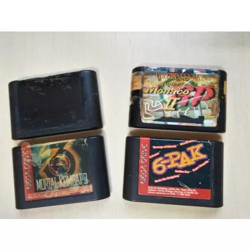 Lote Com 4 Jogos Do Mega Drive - Leia Todo O Anúncio