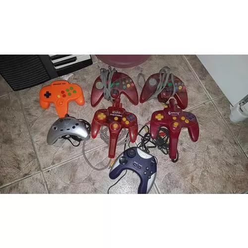 Lote Com 7 Controles Games Todos No Estado S