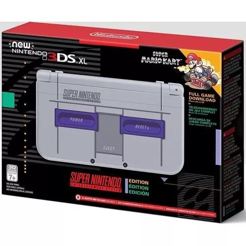 Nintendo New 3ds Xl Super Nintendo + 3000 Jogos 3ds & Ds