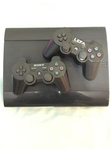 Playstation 3 super slim com jogos