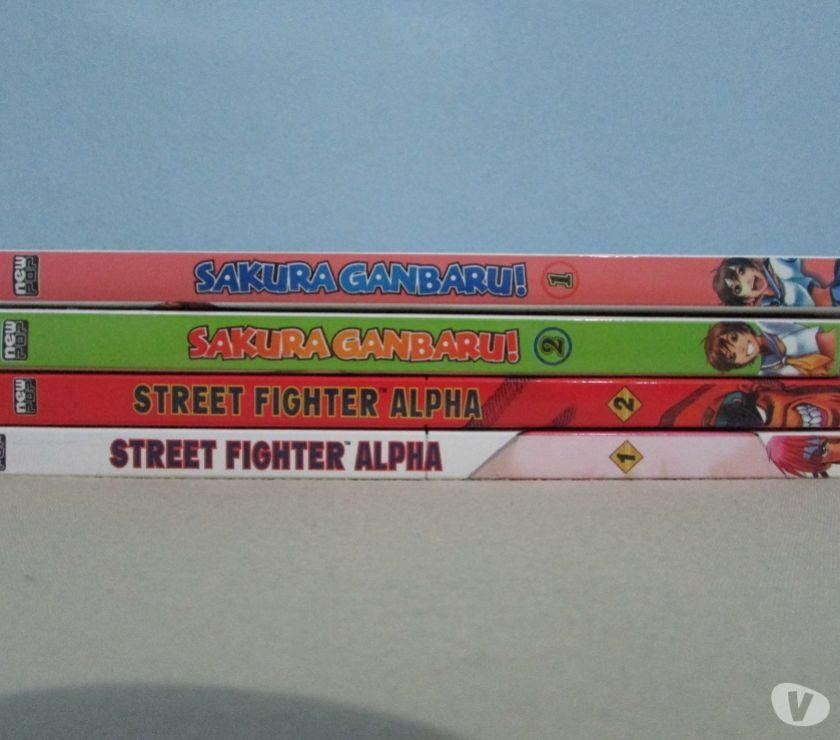 Street Fighter Alpha - Coleção Completa - Nova - 4 Volumes