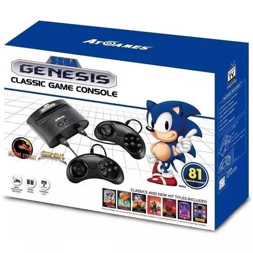Vídeo Game Genesis Classic Game 81 Jogos Mega Drive Sega