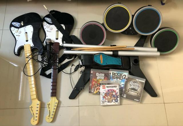 Vendo Rockband PS3 - completo