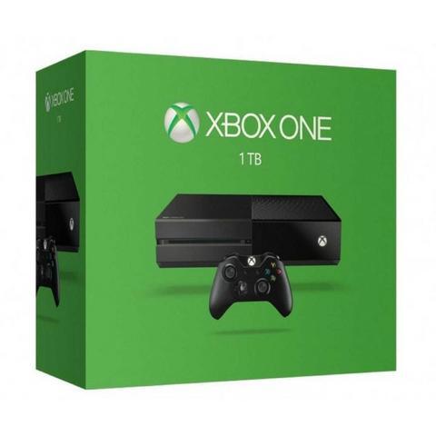 Xbox one com hd de 1 tera
