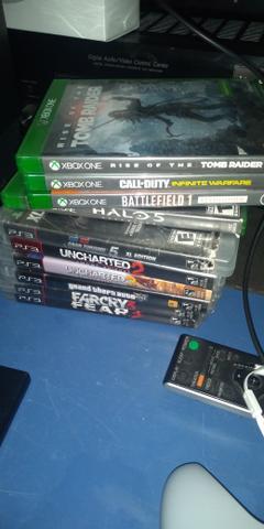 Xbox one e ps3 fat troco
