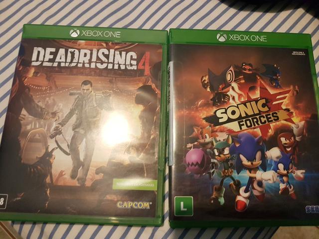 Xbox one s 500 Gb 4K super conservado com dois jogos em
