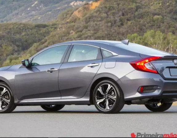 Honda Civic G10 2018 com parcelas de 1.240,00