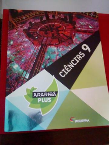 Livro de ciências projeto arariba 9°