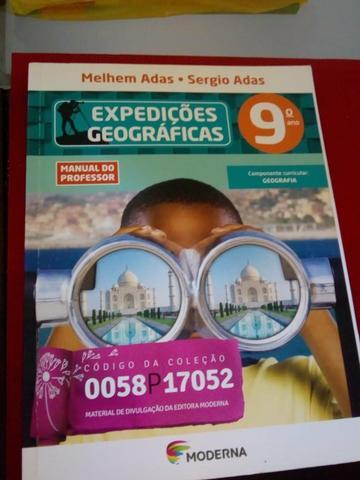 Livro expedições geográficas 9°ano