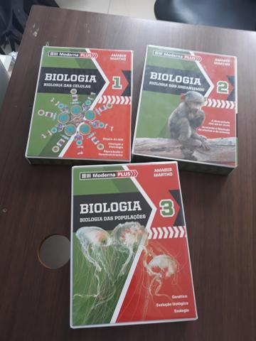Livros de Biologia Amabis Ensino médio