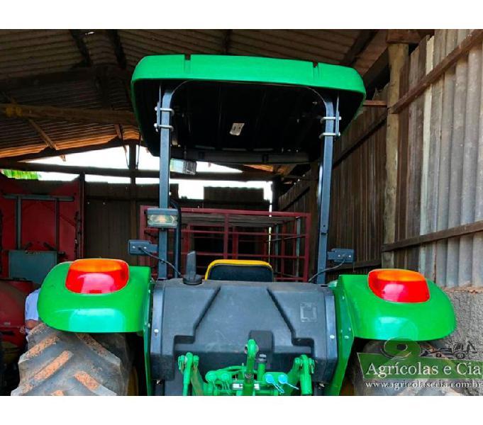 Trator John Deere 5075 E 4x4 (Apenas 620 Horas - Excelente!)