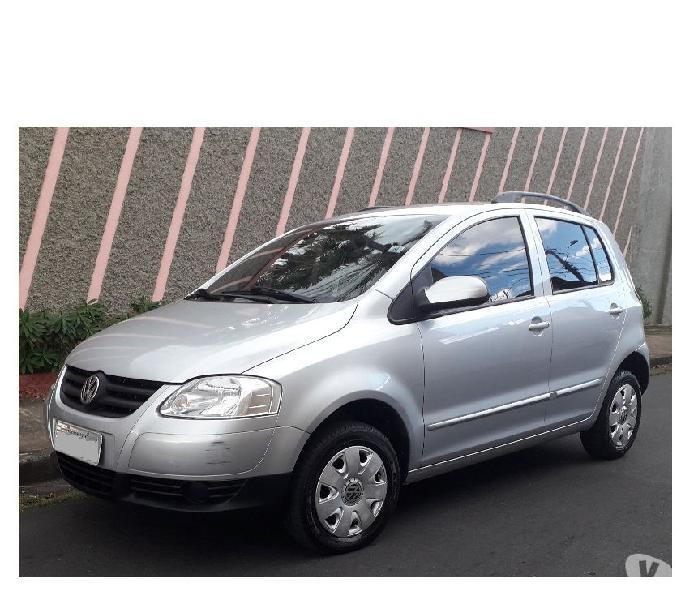 Vw - Volkswagen Fox 1.0 Completo - Ar Única dona - 20072008