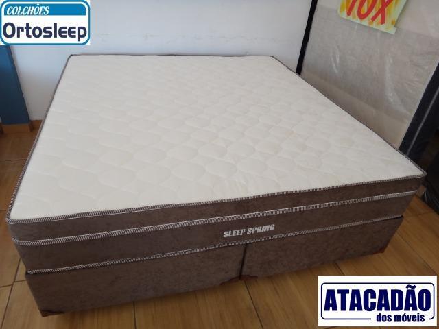 Cama Box Super King Sleep Spring 1,93 x 2,03 x 72