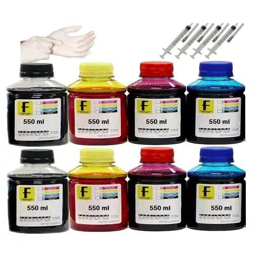 Kit Tinta 4 Litros Impressoras L120 L220 L395 L380 L455 L575