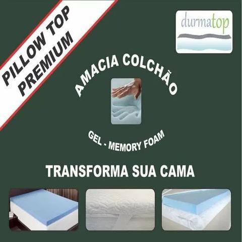 Pillow Top Durmatop p Colchão Premium Gel Memory Foam King