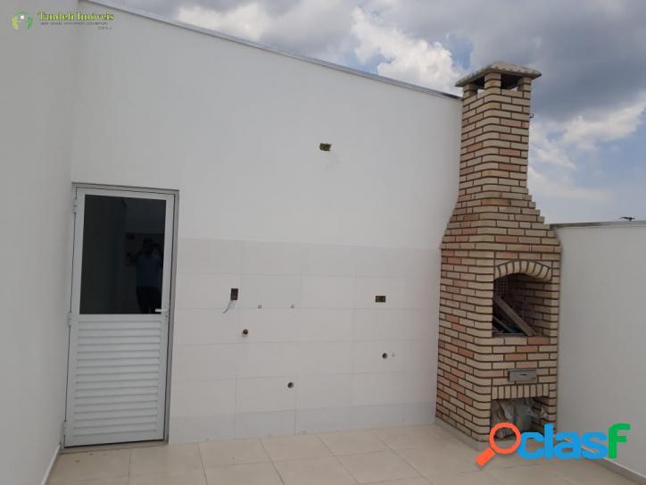 Cobertura sem condomínio, 2 dormitórios - Vila
