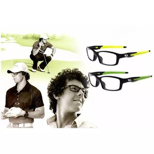 Armação De Óculos De Grau Estilo Crosslink Cores Diversas