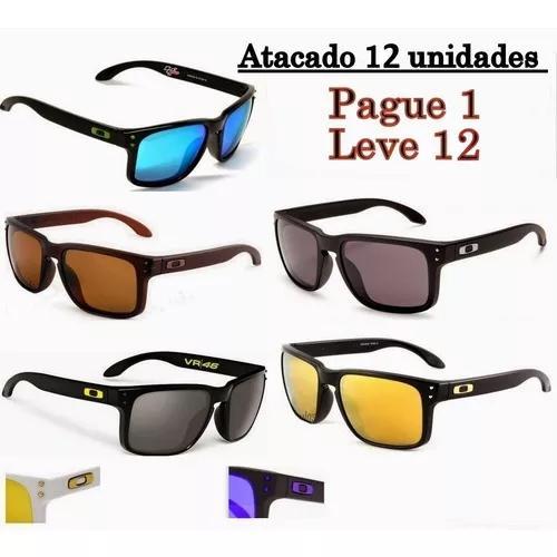 Kit 12 Óculos De Sol Masculino Lente Polarizada Varias Core