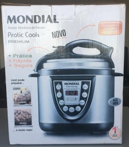 Panela elétrica de pressão pratic cook premium