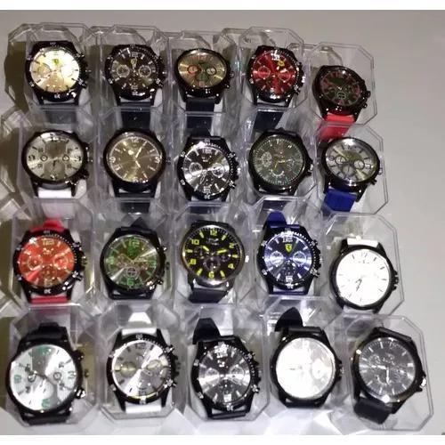 Promoção 20 Relógios Masculino Atacado Revenda Lote +
