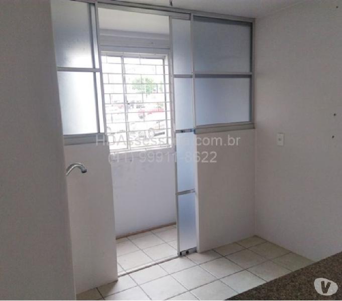 Apartamento 2 quartos, terreo, 1 vaga, São José dos