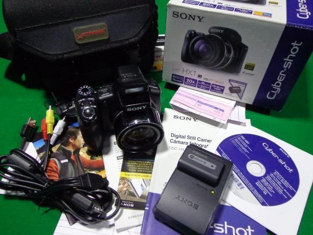 Camera Sony Dsc hx1 - aceito cartão - filma em hd