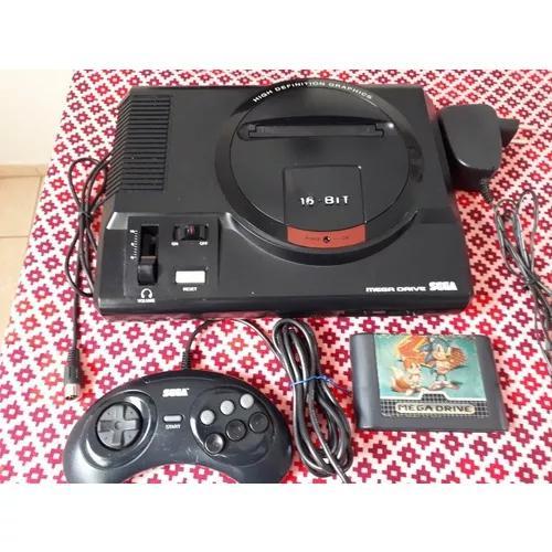Mega Drive 1 Tectoy Classico, 1 Controle, Sonic 2 Original