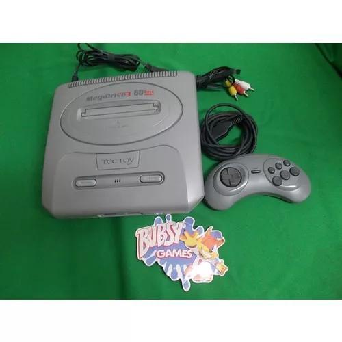 Mega Drive 60 Jogos Com 1 Controle Cabo A/v