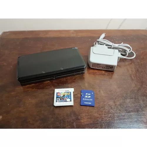 Nintendo 3ds Preto + Lego Batman 2 + Cartão 2gb +