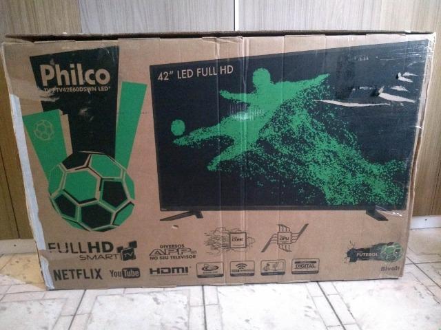 Philco tv 42 polegada, Led FullHD, smart, retirada de