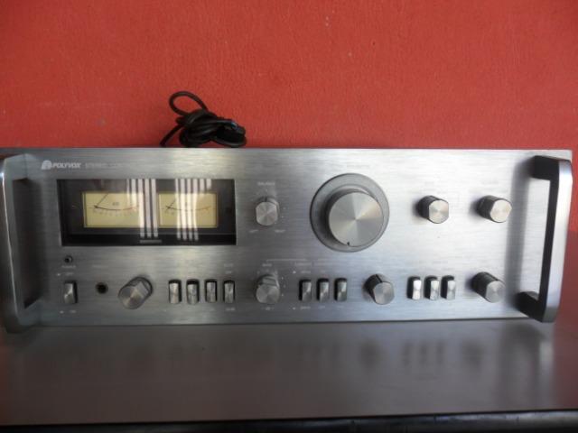 Pré amplificador polivox Cm  grafite