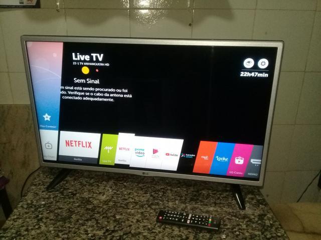 Smart tv Lg led 32 c/ wi-fi