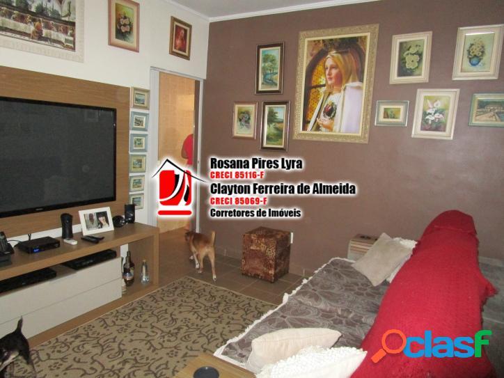 Apartamento Térreo 2 quartos,1 vaga, Boqueirão,Santos
