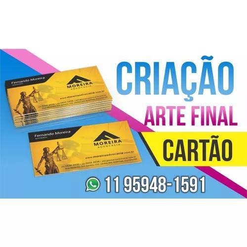 Arte Final Criação De Cartão De Visita E Panfleto/flyer