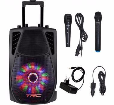Caixa de Som Amplificada trc TRC359 Portátil Bluetooth