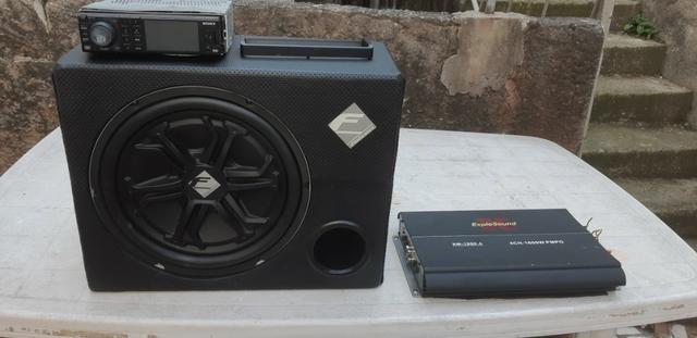 Caixa de Som Seleda, Modulo e aparelho de som