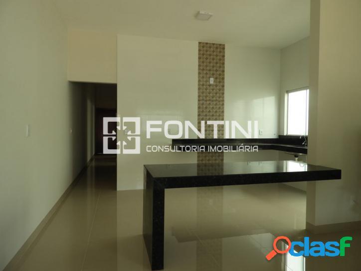 Casa a venda em Palmas, 105m², 3/4 (1 suíte), R$ 280 mil.