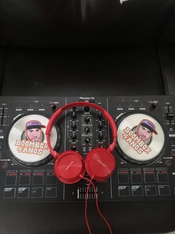 Controladora Pionner DDJ SB2 + headphone Philips
