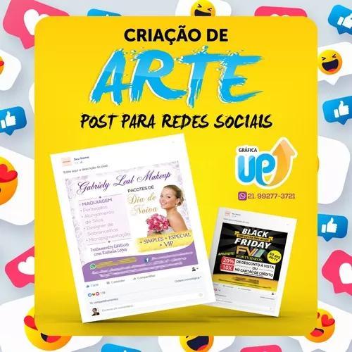 Criação De Arte Para Redes Sociais - Social Media