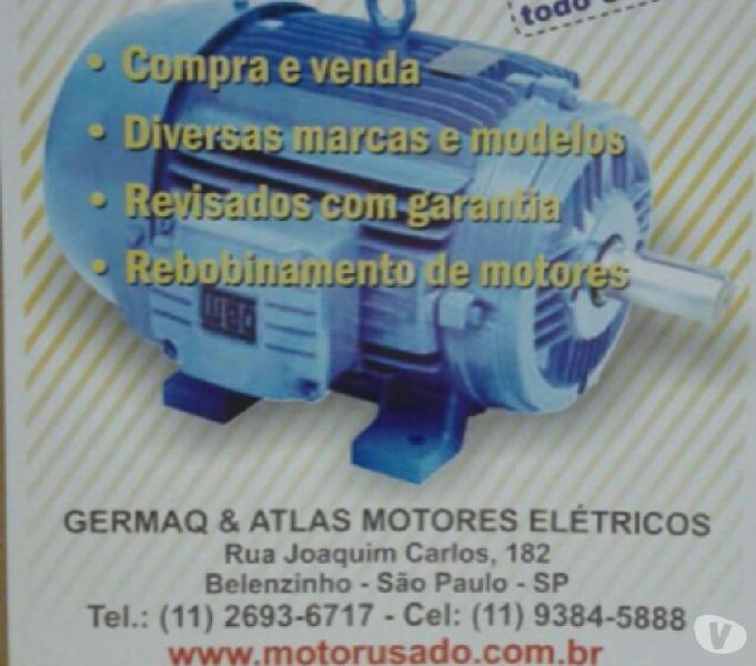 Motor Elétrico Weg 40 Cv 1700 Rpm 4 Polos Trifásico 220380