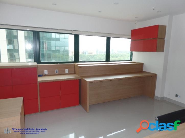 Sala Comercial Mobiliada a venda CEO Office Barra da Tijuca