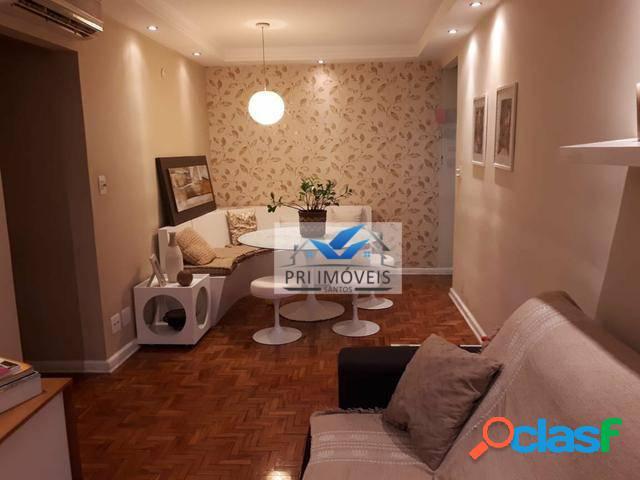 Apartamento com 2 dormitórios à venda, 80 m² por R$