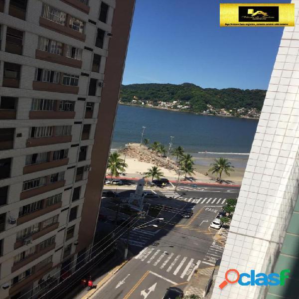 Apartamento com vista Mar na Praia do Gonzaguinha